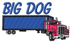 Big Dog embroidery design