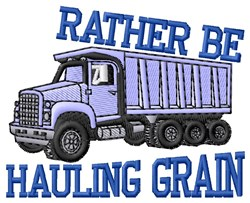 Haulin Graim embroidery design