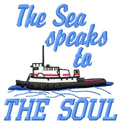 Speaks To Soul embroidery design