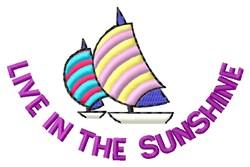 In Sunshine embroidery design