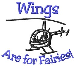 Wings For Fairies embroidery design