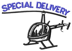 Special Delivery embroidery design