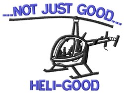 Heli-Good embroidery design