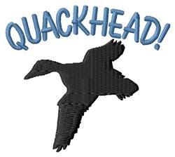 Quackhead embroidery design