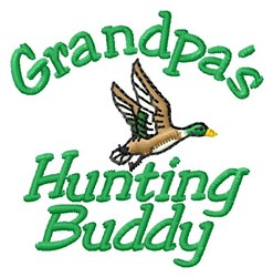 Grandpas Buddy embroidery design