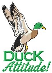 Duck Attitude embroidery design