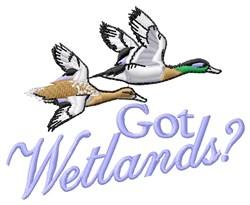 Got Wetlands embroidery design