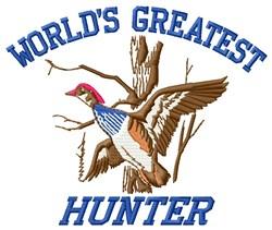Greatest Hunter embroidery design