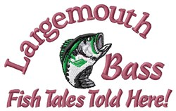 Fish Tales embroidery design