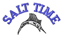 Salt Time embroidery design