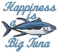 Tuna Happiness embroidery design