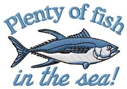 Plenty Of Fish embroidery design