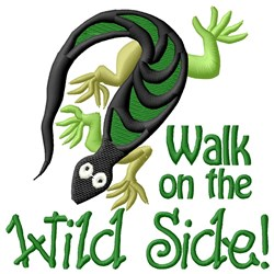Wild Side embroidery design