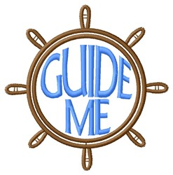 Guide Me embroidery design