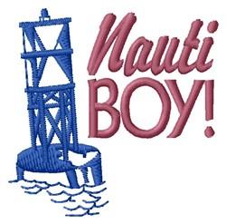 Nauti Boy embroidery design