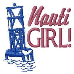 Nauti Girl embroidery design