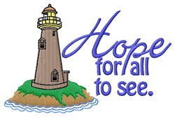 Hope For All embroidery design