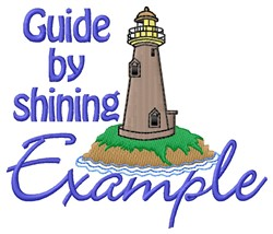 Shining Example embroidery design