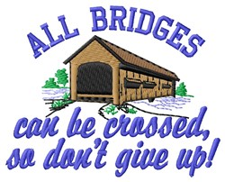 All Bridges embroidery design