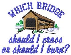 Which Bridge embroidery design