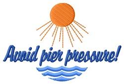 Pier Pressure embroidery design