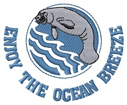 Ocean Breeze embroidery design