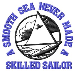 Skilled Sailor embroidery design