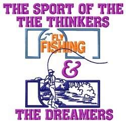 Sport Of Thinkers embroidery design