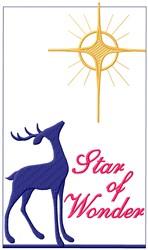 Star Of Wonder embroidery design