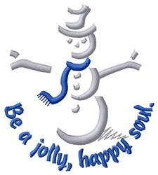 Jolly Happy Soul embroidery design