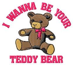 Your Teddy Bear embroidery design