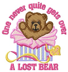 Lost Bear embroidery design
