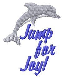 Jump For Joy embroidery design