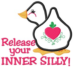 Release Silly embroidery design