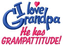 Grampattitude embroidery design