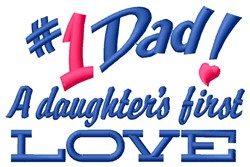 Daughters Love embroidery design