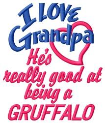 Grandpa Gruffalo embroidery design