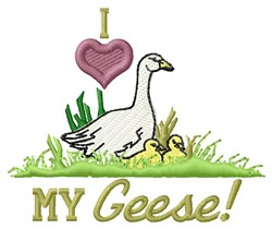 My Geese embroidery design