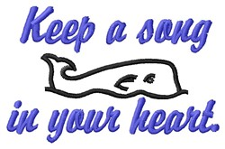 Song In Heart embroidery design