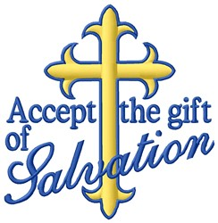 Salvation Gift embroidery design