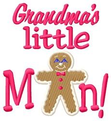 Grandmas Man embroidery design