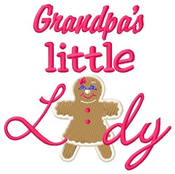 Grandpas Lady embroidery design