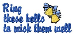 Ring Bells embroidery design