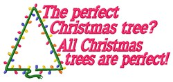 Perfect Christmas embroidery design