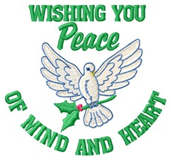 Wishing Peace embroidery design