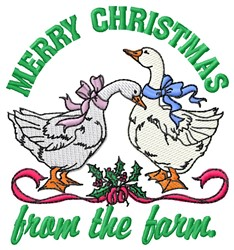 From The Farm embroidery design