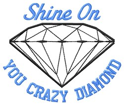 Shine On embroidery design