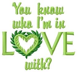 Im In Love embroidery design