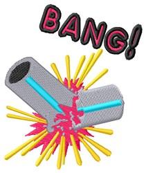 Bang embroidery design