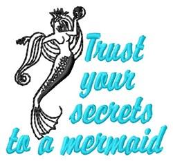 Mermaid Secrets embroidery design